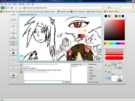 iScribble doodle and stuff by KeiZar