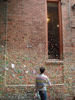 gum wall by gardenhoes