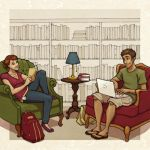 libraries are for cool kids by Kecky