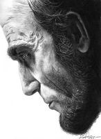 LINCOLN - Daniel Day-Lewis by egrka