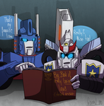 Two bots, one book by VolverseLoco