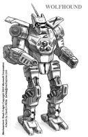 MechWarrior 4 Wolfhound by Mecha-Zone