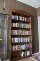 DVD shelf by VisualScream