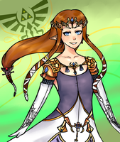 Princess Zelda by Banana-Moon-Bear