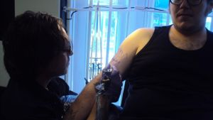 Iva tattooing by hulfie