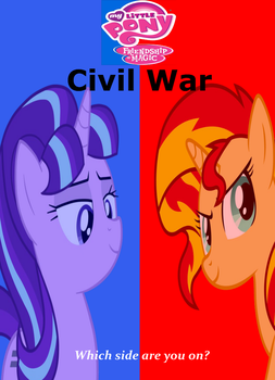 MLP: FiM Civil War by DracofireProductions