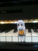 Kanade Paper Child by crazyawesomeepic