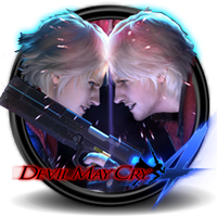 Devil May Cry 4 Circle icon By Myselph by bymyselph