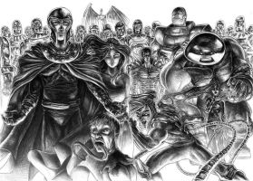 X-men Vilains by ArthurGWG