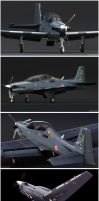 Tucano (French) Textured by Siregar3D