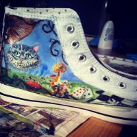 tim Burton Shoes side 3 by loudsilence21