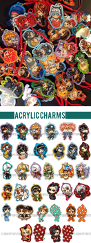 Acrylic Charms by StudioTipTop