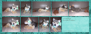 .: IP Wolf Plush :. by Dunkin-Prime