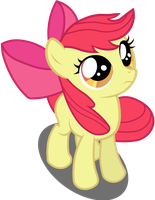 Apple Bloom - Blowing in the Wind by BobtheLurker