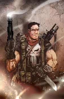 The Punisher Colors by acosorio