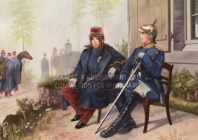 Battle of Sedan - Axis Powers Hetalia Style! by Rheinhard