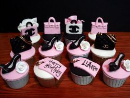 Fashion Cupcakes by Sliceofcake