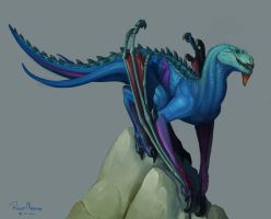 Blue Dragon by RMangano