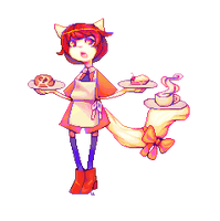 Personal Pixel Doll : Chai Bean by lanternlovers