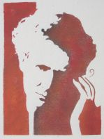 marie curie stencil by bookebinder
