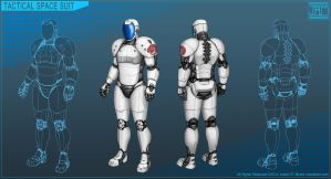 Tactical Space Suit by Luneder