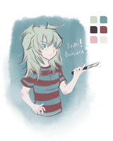 Yami Bakura colour palette challenge by solcastle