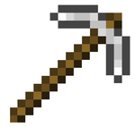 Minecraft's biggest pickaxe by tinkid2