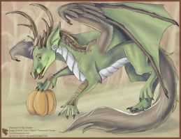 Harvest Dragon - DAX by Ulario