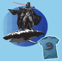 Vader Goes Surfing by Buzatron
