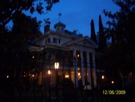 Morning Haunted Mansion by foxanime101