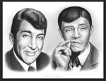 Martin and Lewis Comedy Team from the 40s and 50s by gregchapin