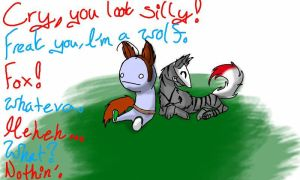 Cry, You're Silly by AkumaToraTheDemon