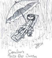 Coraline's Rainy Day Tan by zmorphcom