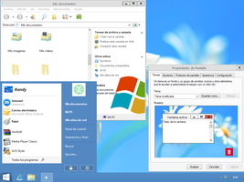 Windows 8 blue theme (WIN XP) by XXlolikXX