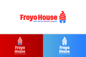 froyo house logo v.3 by artworkbean