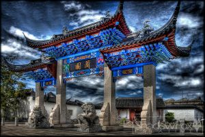Chinese Garden 3 by shadowfoxcreative