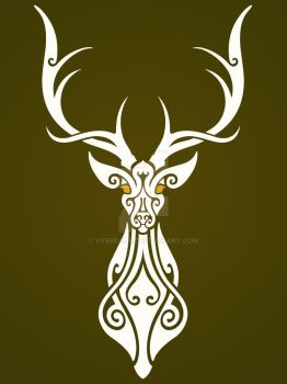 The White Stag by verreaux