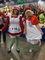 Cosplay Check: Strawberry Shortcakes by Rhythm-Wily