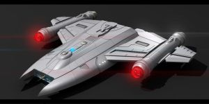 Star Trek Manta Ray Class by AdamKop