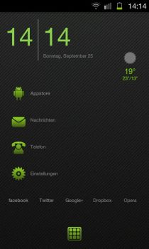 Dark Android Theme by D-e-s-i-g-n