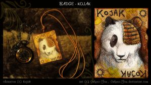 Steampunk Trade: Badge Kojak by Culpeo-Fox