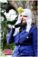 Prussia - Hetalia smile by cosplayculture