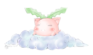 Hoppip Animated by WanNyan