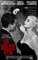 The OTHER alternate poster of La Dolce Vita by Moomuu