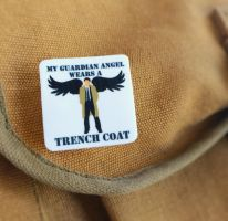 My Guardian Angel Wear A Trench Coat - Pin by dalmation1080