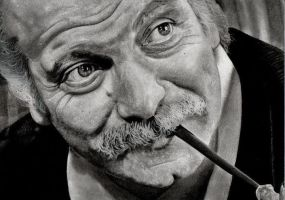 Georges BRASSENS by Sadness40