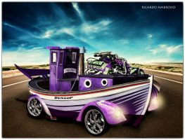 Car boat by rdos11