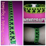 Minecraft  Creeper  bracelet by kornkob95