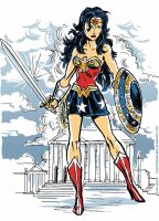 Wonder Woman / Hippolyta by TheCosmicBeholder