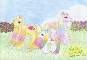 MLP Rainbow Family by NormaLeeInsane